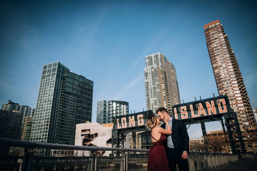 Couple Shooting New York - Destination Wedding Photographer - Destination Wedding Videographer