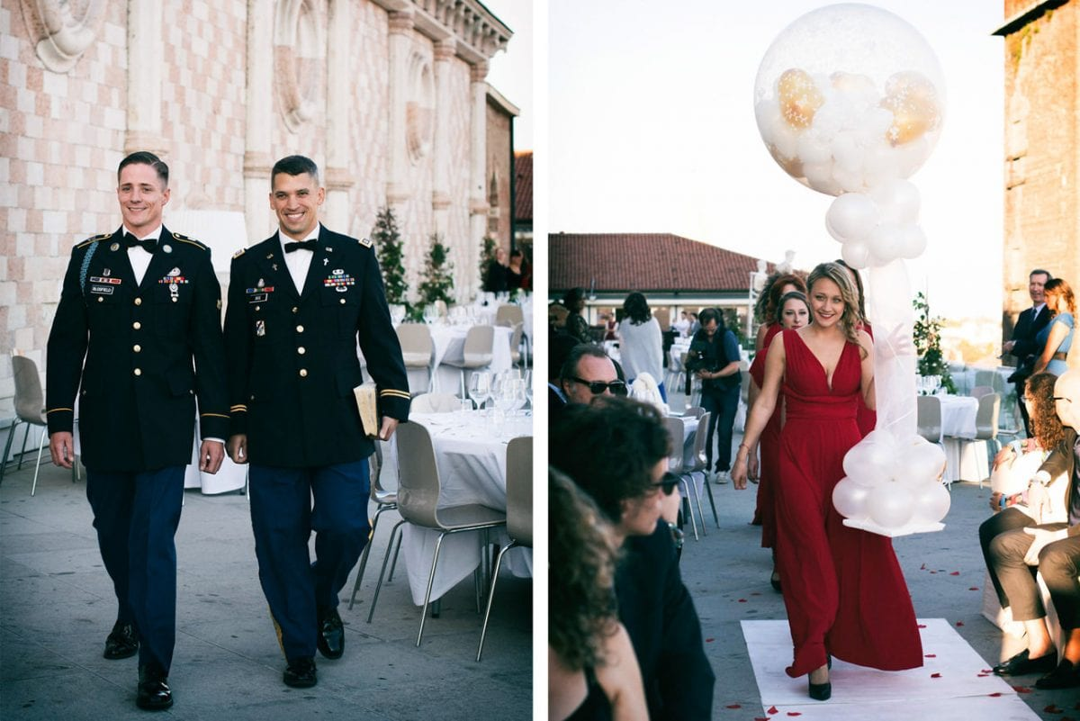 American Wedding in Italy - Destination Wedding Photographer Italy