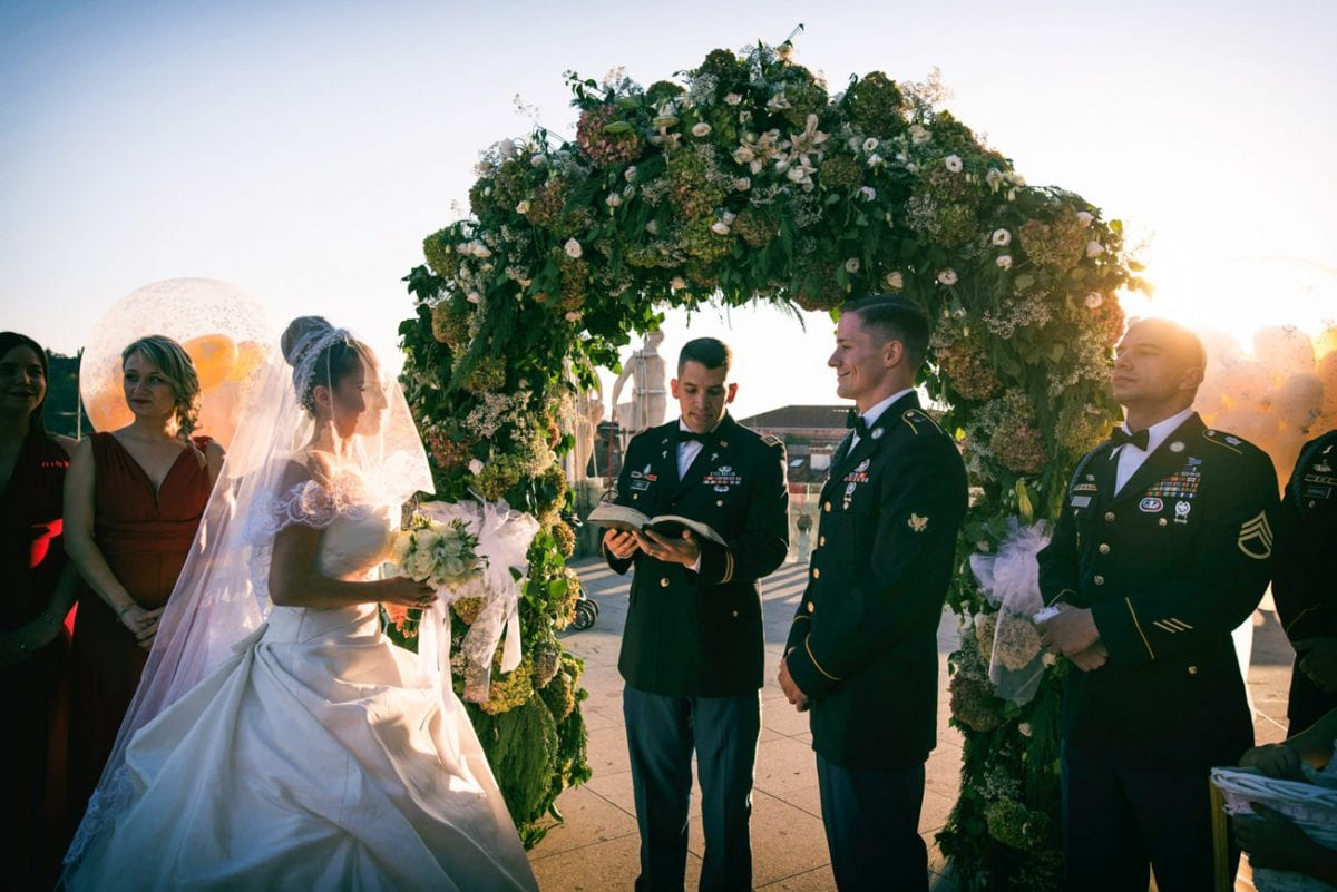 American Wedding in Italy - Destination Wedding Photographer Italy