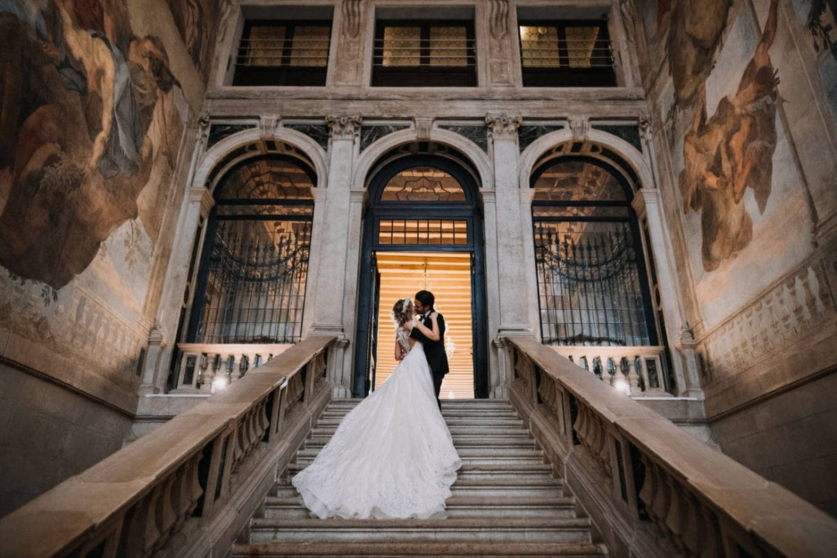 Elopement Photographer Venice - Wedding Photographer Ca Sagredo