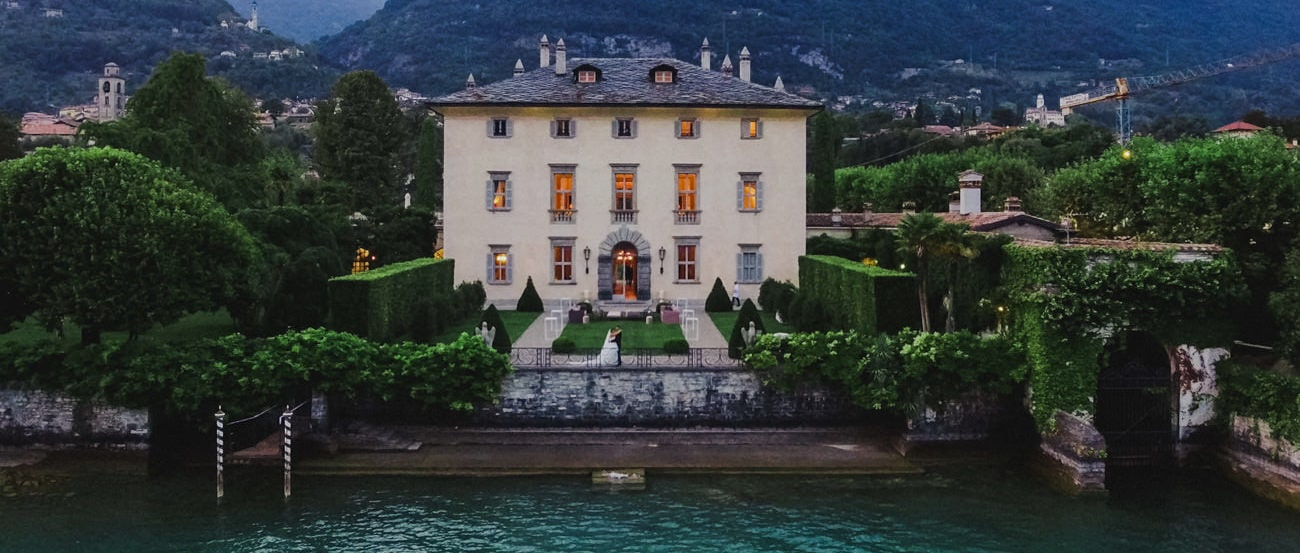 wedding video lake como