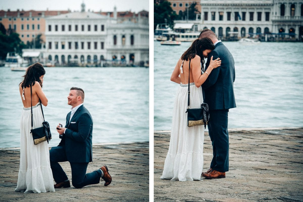 Marriage Proposal Venice - Couple Photos Venice