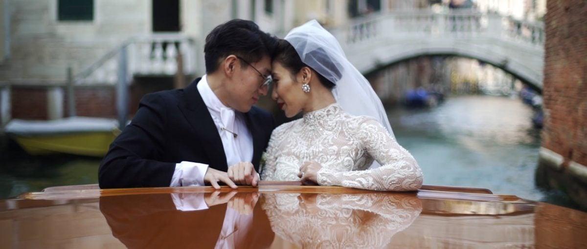wedding video venice