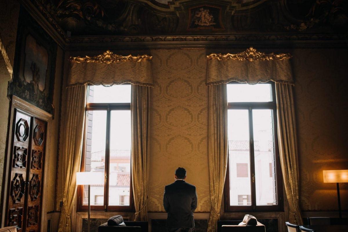 Luxury Elopement in Venice - Wedding Photo Video Venice - Wedding Aman Palace