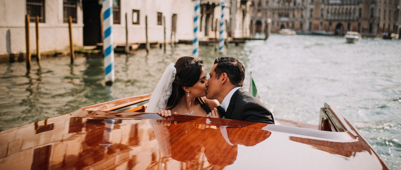 Elopement in Venice