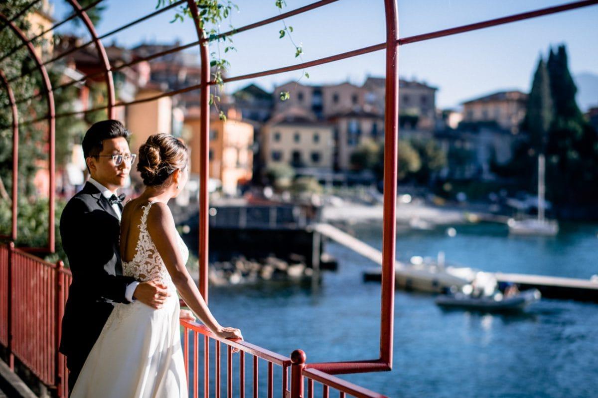 Wedding Photo Shooting in Lake Como