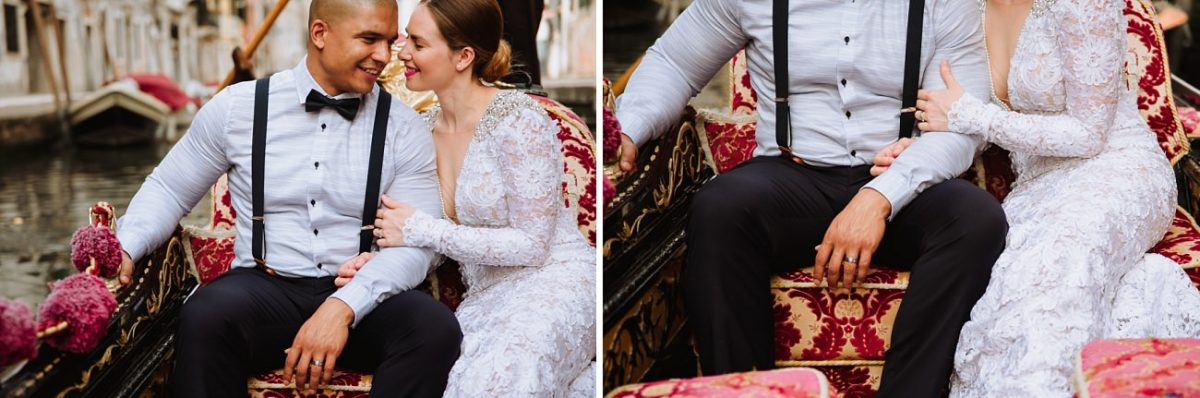 Gondola Wedding in Venice - Wedding Photographer Venice
