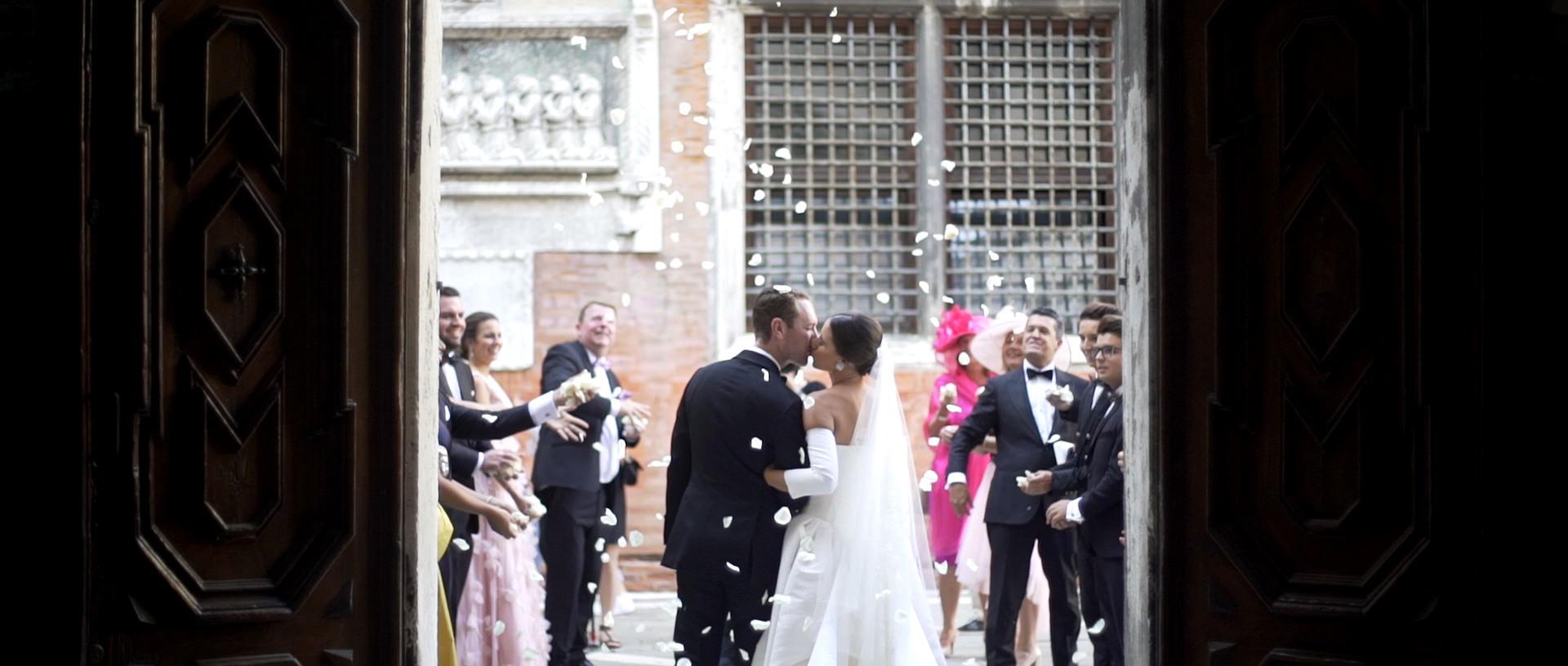 Wedding at San Giovanni Evangelista Venice