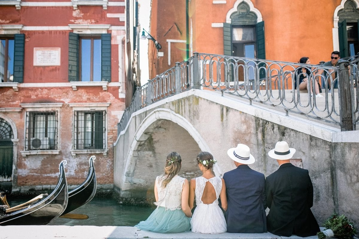 Unconventional Wedding in Venice