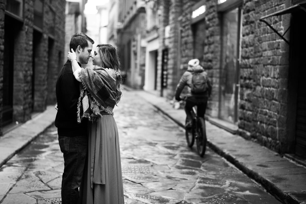 Sunset Engagement in Florence