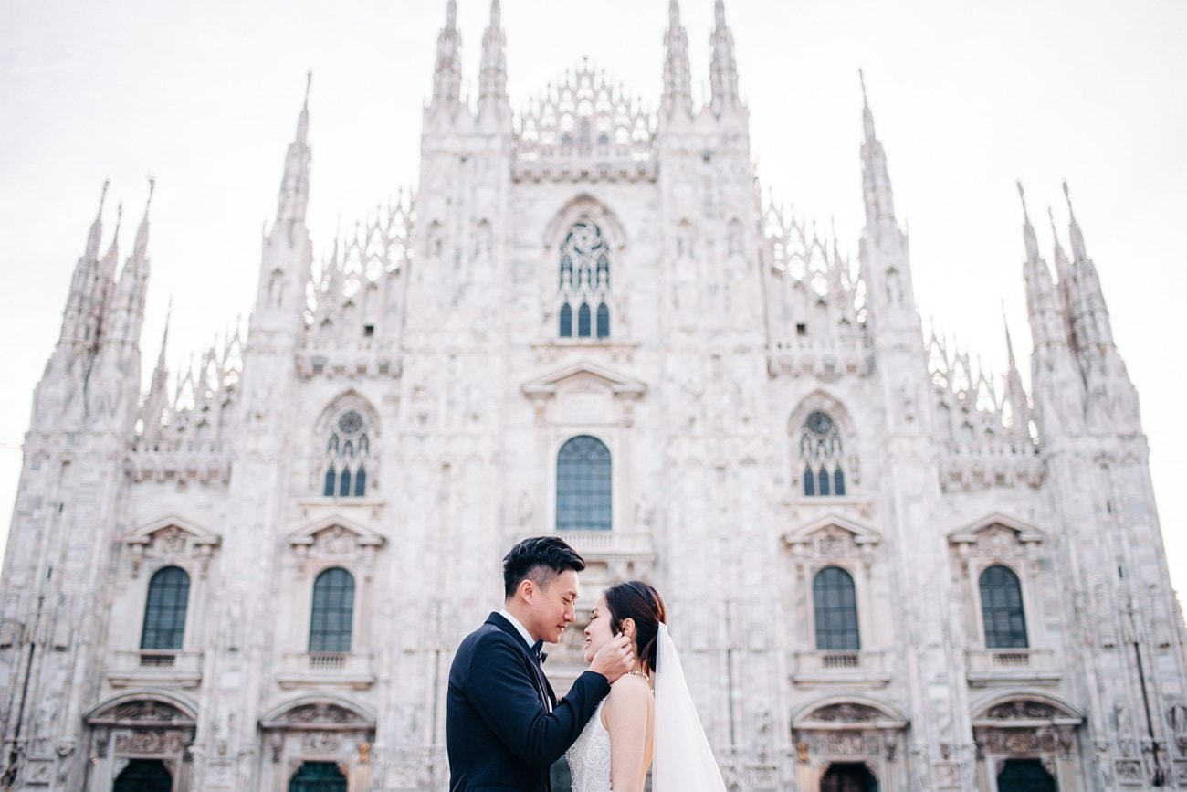 Prewedding in Milan
