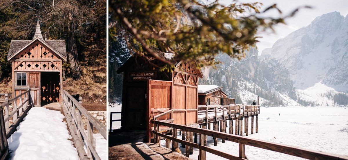 Same-Sex Elopement in Lake Braies