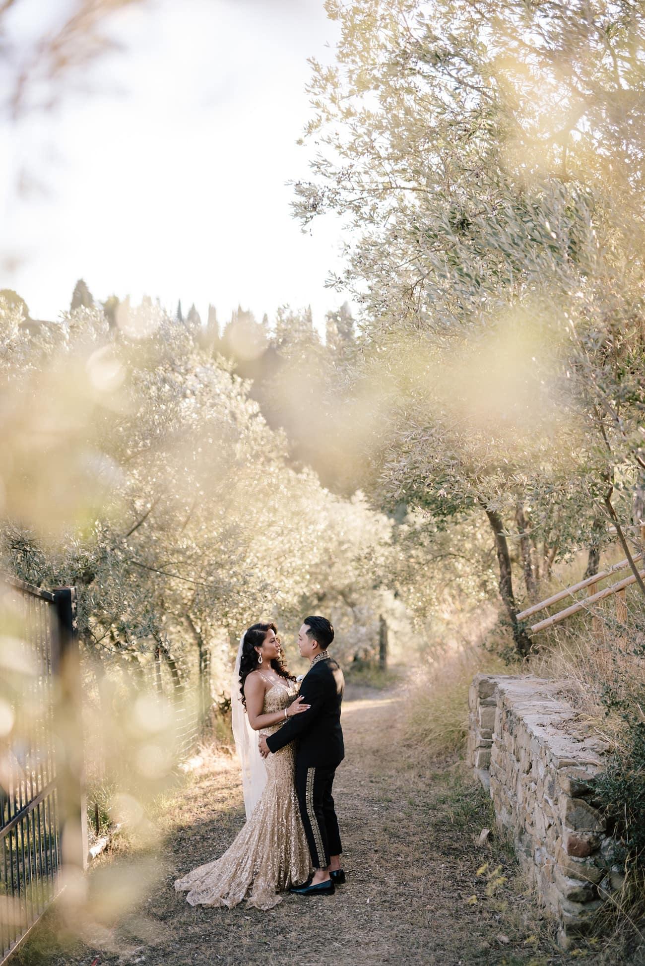 Destination Wedding in Chianti, Tuscany