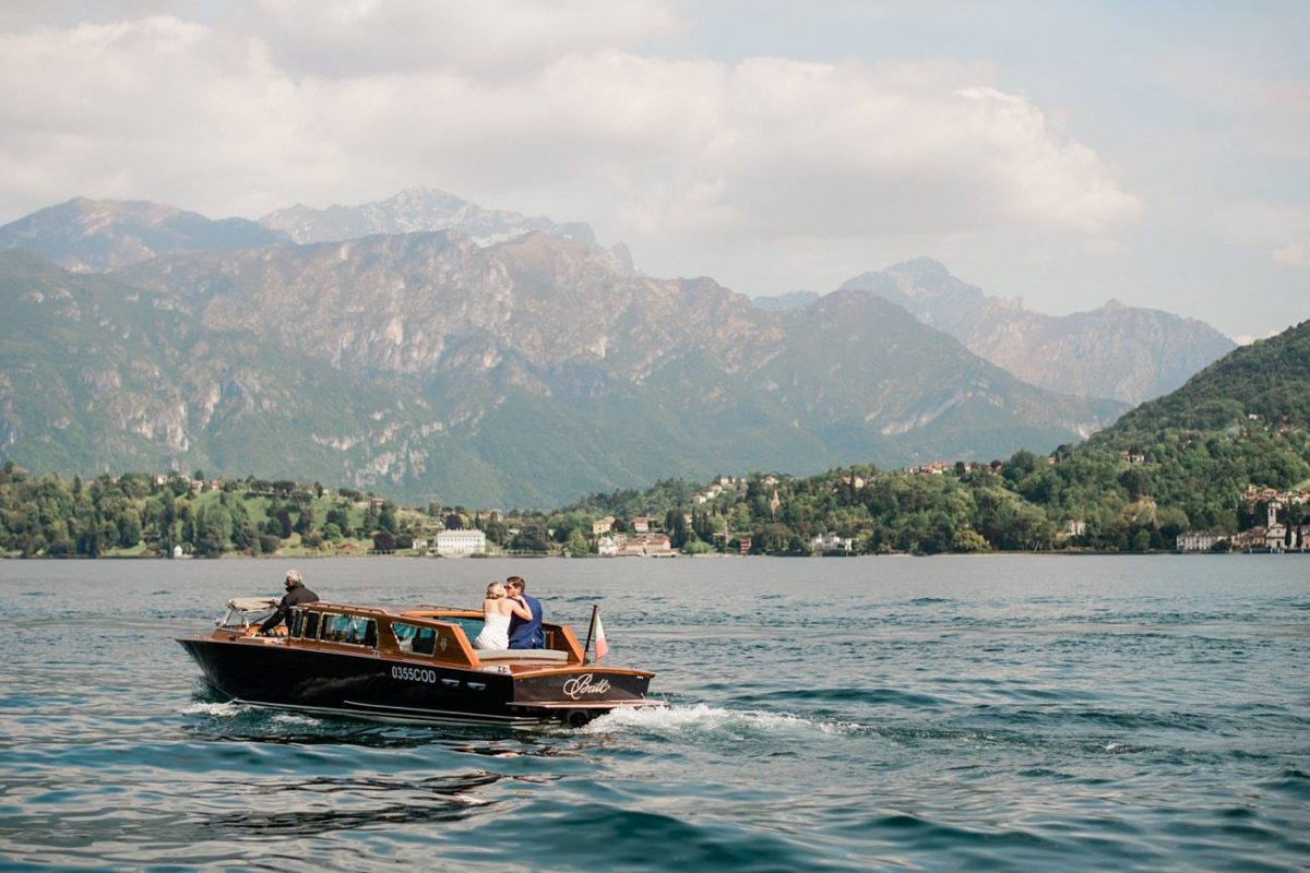Elopement in Lake Como