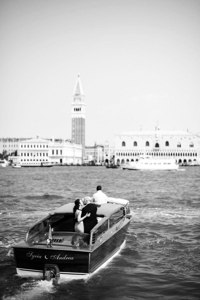 Sunrise Elopement in Venice