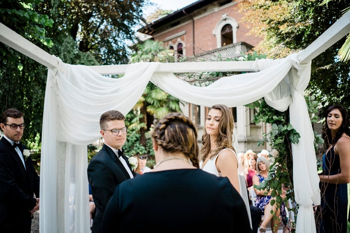 Intimate Wedding in Lake Como