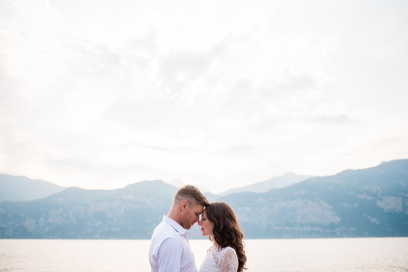 Wedding Photo Castle Malcesine Lake Garda