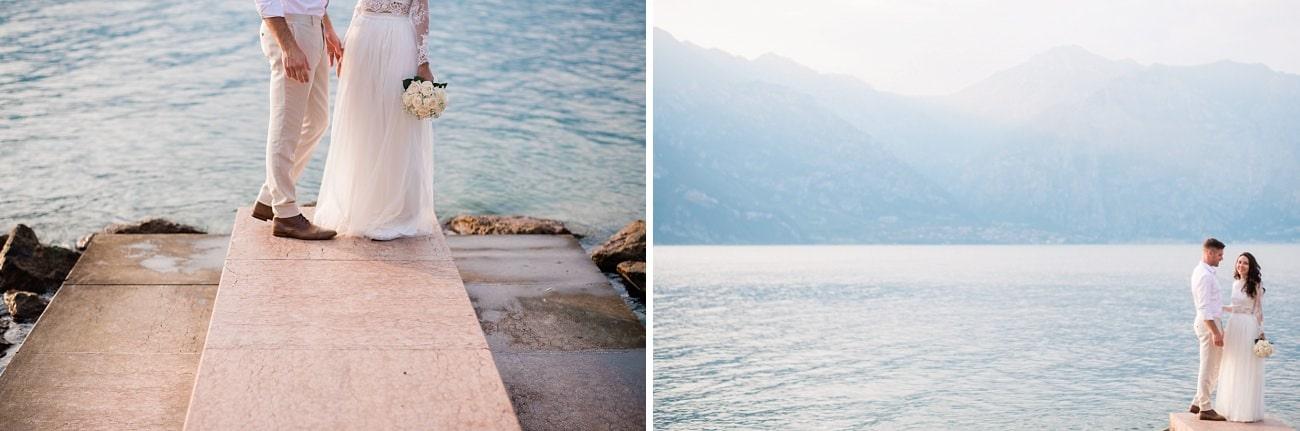 Pink, it was love at first sight / Elopement Photos Lake Garda