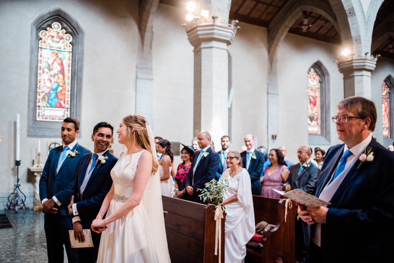 Wedding at the American Church of Florence