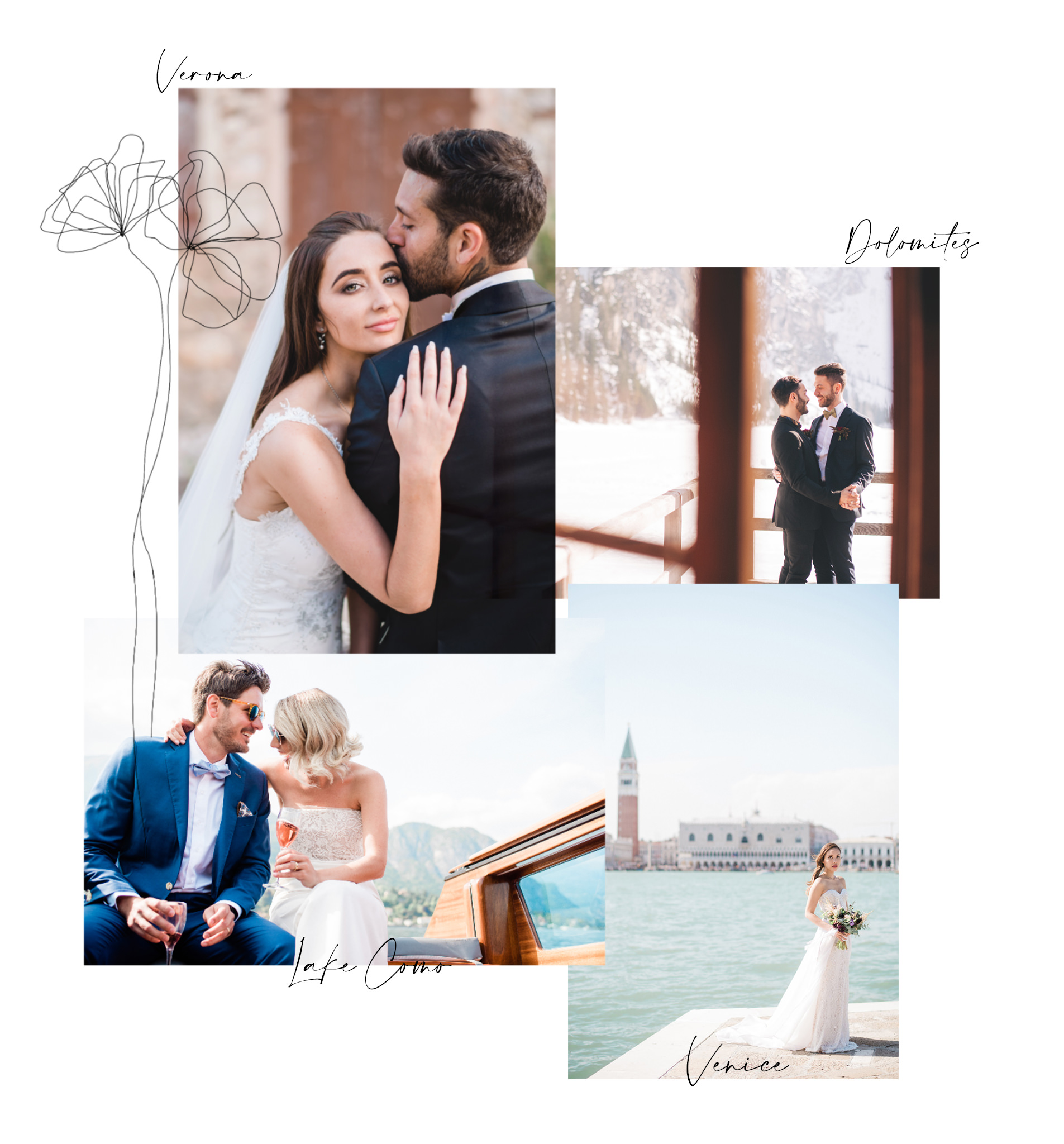 Wedding Photographers Videographers Italy