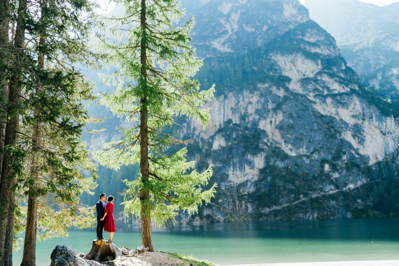 Pre Wedding in Lake Braies