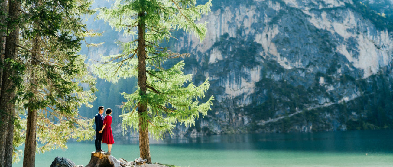 Pre Wedding Shooting Lake Braies
