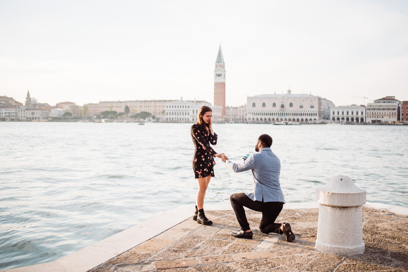 Marriage Proposal Venice