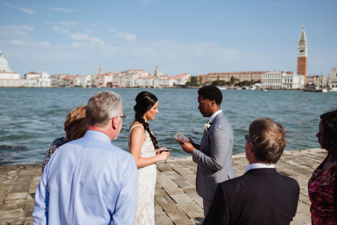 Elopement San Giorgio Venice
