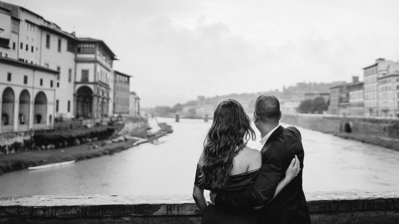 Engagement Shooting in FlorenceShooting in Florence